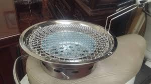 bếp lẩu nướng không khói than hoa