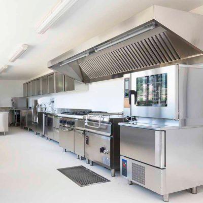 lắp đặt hệ thống hút khói bếp công nghiệp