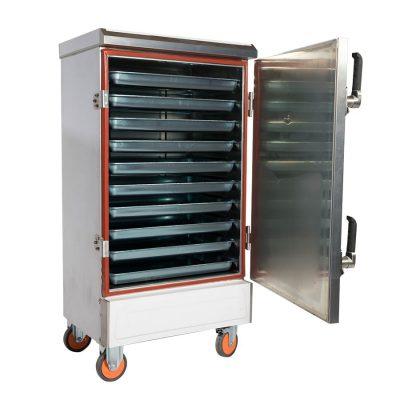 tủ nấu cơm công nghiệp 10 khay điện